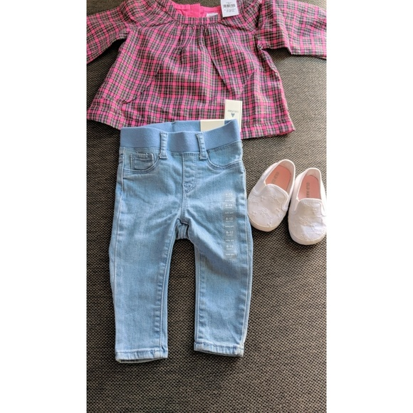 198ca82fd Baby Gap Matching Sets | Girl Outfit With Shoes Baby Pants Shirt ...
